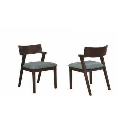 Carson Carrington Maglaby Upholstered Dining Chairs (Set of 2)