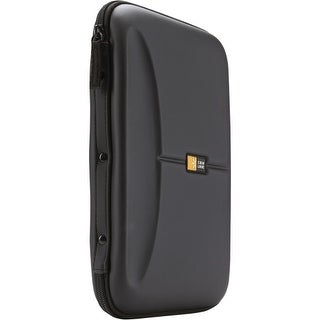 Case Logic CDE-48 Case Logic CD Wallet - Book Fold - Fabric - Black - 48 CD/DVD