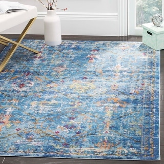 Link to Safavieh Aria Veronica Vintage Boho Oriental Rug Similar Items in Living Room Chairs