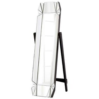 "Cyan Design 08731 Paramour 69"" Tall Beveled Glass Standing Mirror"