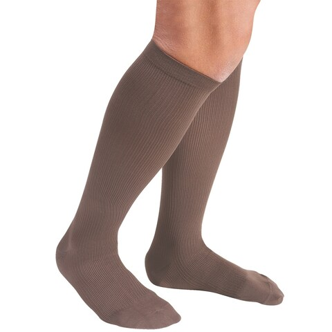 Support Plus Mens Firm Compression Dress Socks - 20-24 mm/Hg