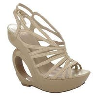 Truth or Dare by Madonna Womens moncrief Open Toe Special Occasion Platform S... - 9.5