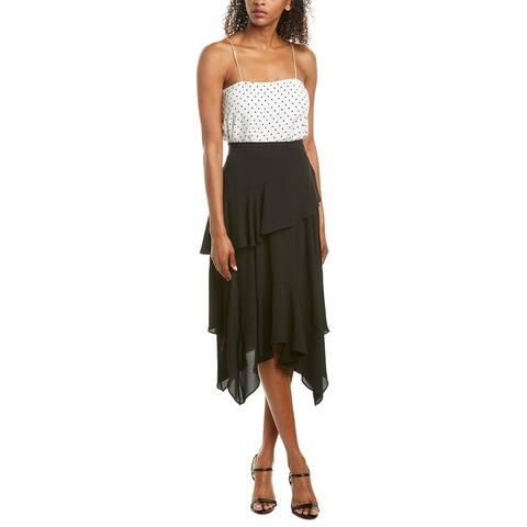 Bcbgmaxazria Ruffle Midi Skirt
