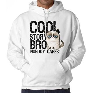 Grumpy Cat Cool Bro Men's White Funny T-shirt