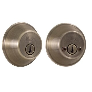 Weslock 372 Double Cylinder Deadbolt from the Molten Bronze Collection