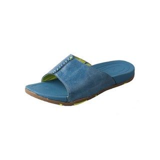 Twisted X Casual Shoes Womens Sandals Round Rubber Ocean Blue WSD0003