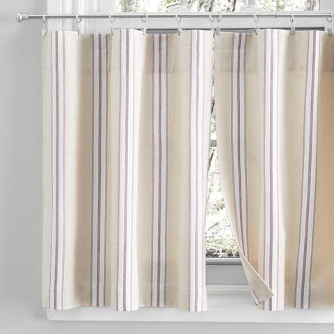 Provence Rod Pocket Kitchen Curtains - Tier, Swag or Valance (Sold Separately)