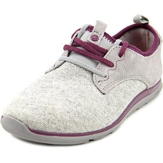 Cushe Shakra Women Round Toe Canvas Gray Walking Shoe