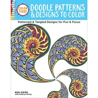 Design Originals-Color This! Doodle Patterns & Designs