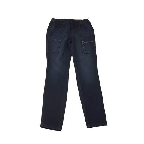 Style & Co. Blue Skinny Cargo Jeggings XS