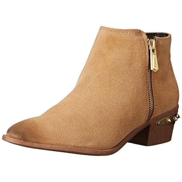 Circus by Sam Edelman Womens holt Leather Almond Toe Ankle Fashion Boots