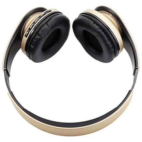 HY-811 Foldable FM Stereo MP3 Player Wired Bluetooth Headset