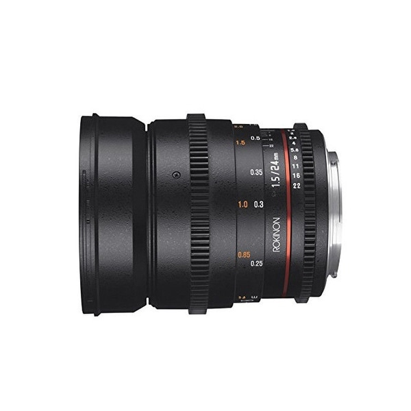 Rokinon DS 24mm T1.5 Cine Lens for Canon EF - Black