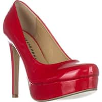 Chinese Laundry Wonder Platform Dress Heels, Red