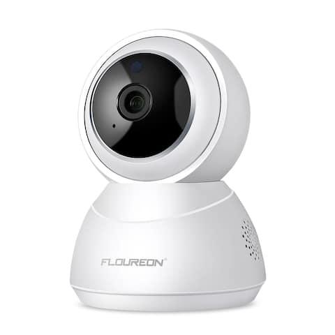 FLOUREON YI Cloud Home Camera, 1080P HD Wireless IP Security Camera Pan/Tilt/Zoom Indoor Surveillance System
