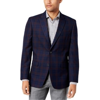 Link to Tommy Hilfiger Mens Plaid Sport Coat Similar Items in Sportcoats & Blazers