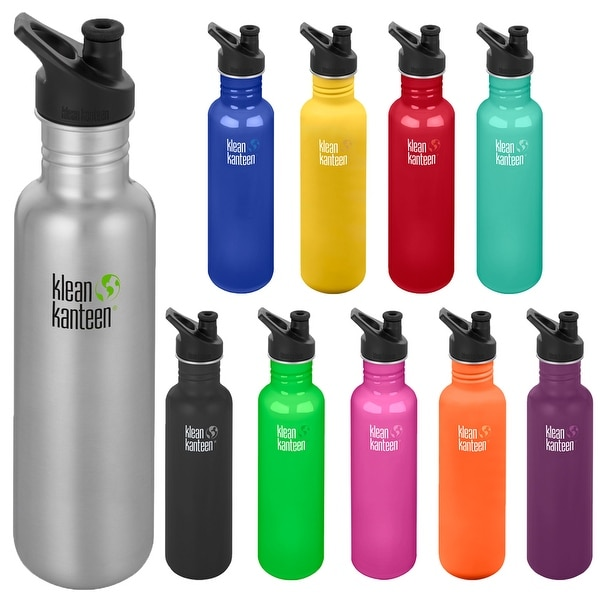 7d9404e8d5 Shop Klean Kanteen Classic 27 oz. Single Wall Bottle with 3.0 Sport Cap -  Free Shipping On Orders Over $45 - Overstock - 22253863