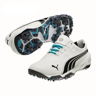 Puma Men's Biofusion White/Black Golf Shoes 187089-07