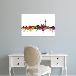 Easy Art Prints Michael Tompsett's 'Berlin Germany Skyline' Premium Canvas Art
