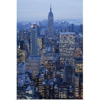 """New York City, New York"" Poster Print"