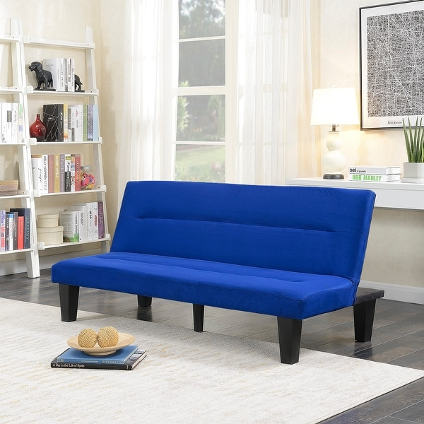 Shop Belleze Convertible Sofa Adjustable Futon Bed Legs