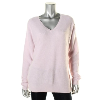 Private Label Womens Pullover Sweater V Neck Waffle Knit