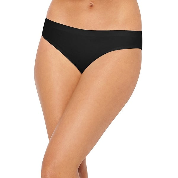 ec594656b00 Shop Hanes® Ultimate®  Smooth Tec®  Women s Bikini Panties 3-Pack - Size -  5 - Color - Black White Stripe Assorted - Free Shipping On Orders Over  45  ...