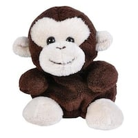 Monkey Bean Filled Plush Stuffed Animal