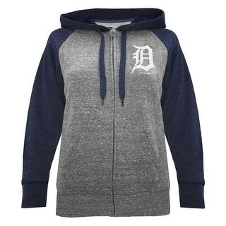huge selection of 2759d d0fb7 New Era Women MLB Detroit Tigers Glitter Logo Zip Hoodie Sweatshirt  7773L-HHQN | Overstock.com Shopping - The Best Deals on Hoodies