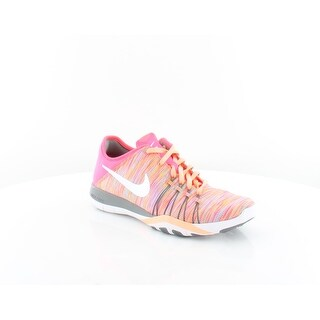 wholesale dealer cfa6d e48e4 Shop Nike Free TR 6 Womens Athletic Racer PinkWhiteCool Grey - 7 - Free  Shipping Today - Overstock.com - 25626217