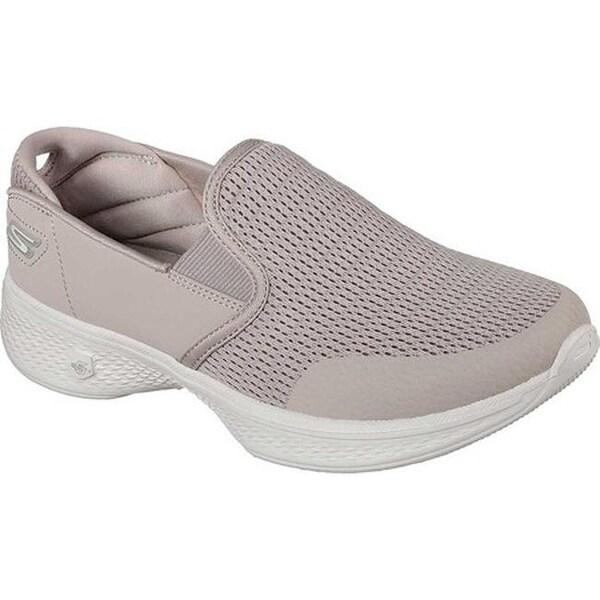 cab3394df17f Shop Skechers Women s GOwalk 4 Attuned Slip-On Sneaker Taupe - On ...