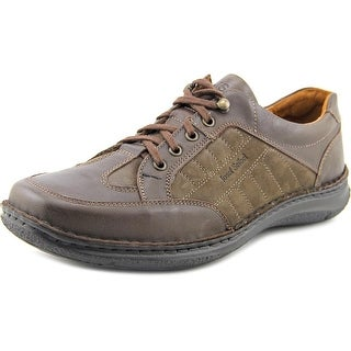 Josef Seibel Anvers 19 WW Round Toe Leather Sneakers