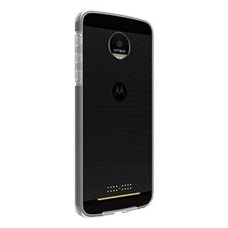 Verizon Two-Tone Case for Motorola Moto Z Droid - Clear)