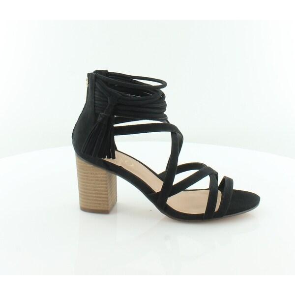XOXO Elle Women's Sandals & Flip Flops Black