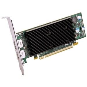 """""""Matrox M9128-E1024LAF Matrox M9128 Graphic Card - 1 GB DDR2 SDRAM - PCI Express x16 - Low-profile - 2560 x 1600 - OpenGL 2.0,"""