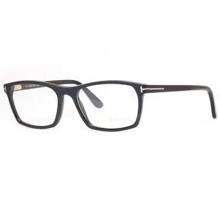 Tom Ford TF5295 002 56mm Black Frames Rectangular Unisex Eyeglasses - 56mm-17mm-145mm