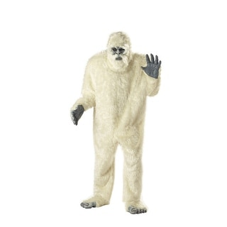 Abominable Snowman Adult Mens Halloween Costume - standard - one size