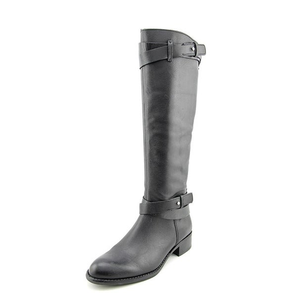 Franco Sarto Canary Round Toe Leather Knee High Boot