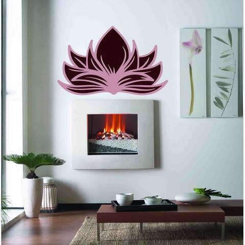 Boho Lotus flower Wall Decal, Boho Lotus flower Wall sticker, Boho Lotus flower wall decor, Boho Lotus flower Wall Art