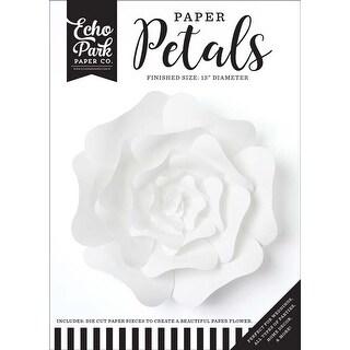 Large White Rose - Echo Park Paper Petals