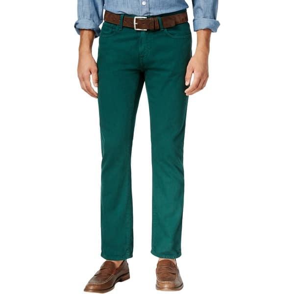 7bbd37c12a24 Shop Tommy Hilfiger Mens Bootcut Jeans Denim Straight Fit - Free ...