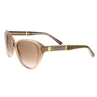 Michael Kors MK2025 321513 RANIA I Clear Beige Cateye Sunglasses - 54-18-135