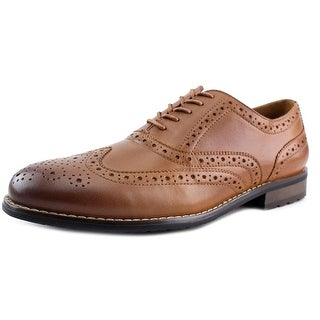 Nunn Bush Tj Wingtip Ox Men Wingtip Toe Leather Brown Oxford