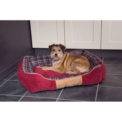 Scruffs Highland Box Bed - Red