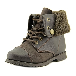 Rachel Shoes Lil Aspen Round Toe Synthetic Winter Boot