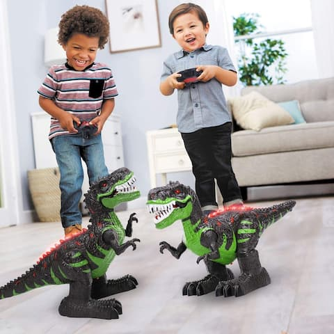 8 Channels 2.4G Remote Control Dinosaur for Kids Boys Girls