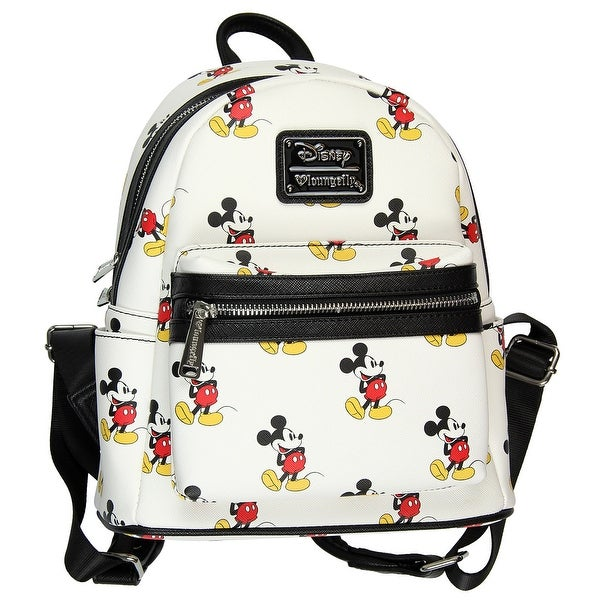 1e0b0b8748f Shop Loungefly Disney Mickey Mouse All Over Print Mini Backpack ...