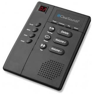 ClearSounds ANS3000 Digital Amplified Answering Machine|https://ak1.ostkcdn.com/images/products/is/images/direct/618dd222d3cfb6fe42f3b3949d7eaad18fba5599/ClearSounds-ANS3000-Digital-Amplified-Answering-Machine.jpg?impolicy=medium