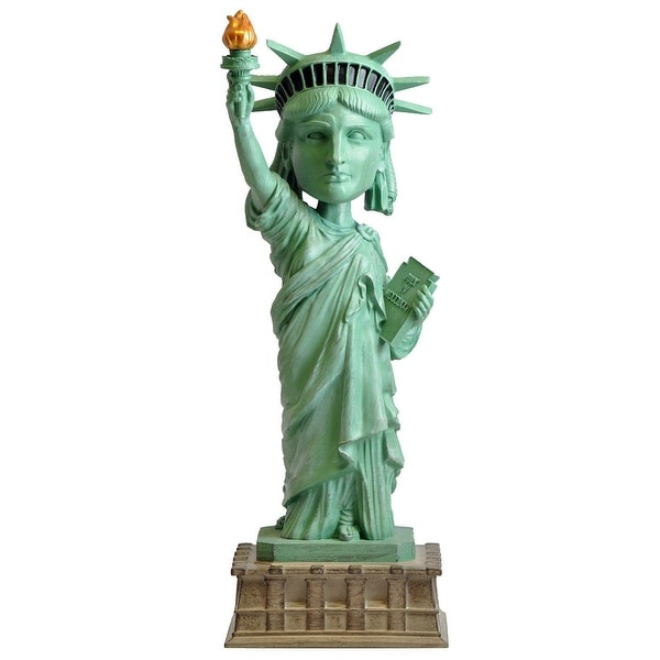 "Statue of Liberty 8"" Resin Bobble Head - multi"