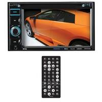 "Boss 6.2"" DDin Receiver Bluetooth DVD/CD/MP3 USB/SD Front Aux"